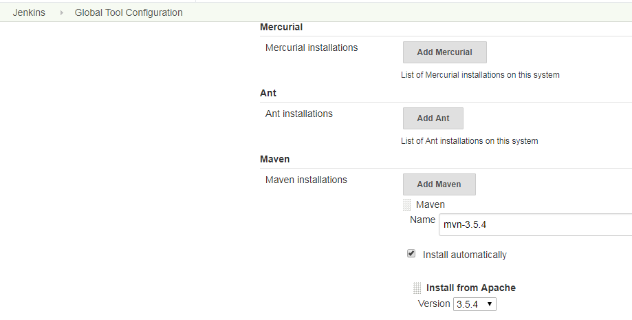 添加maven-3.5.4