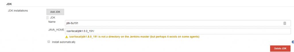 指定JDK路径